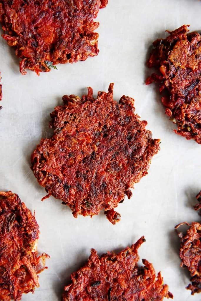 Healthy Mediterranean Veggie Fritters