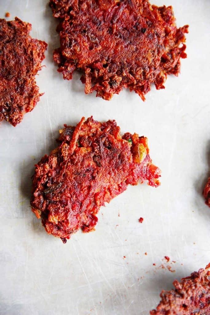 gluten-free veggie fritters