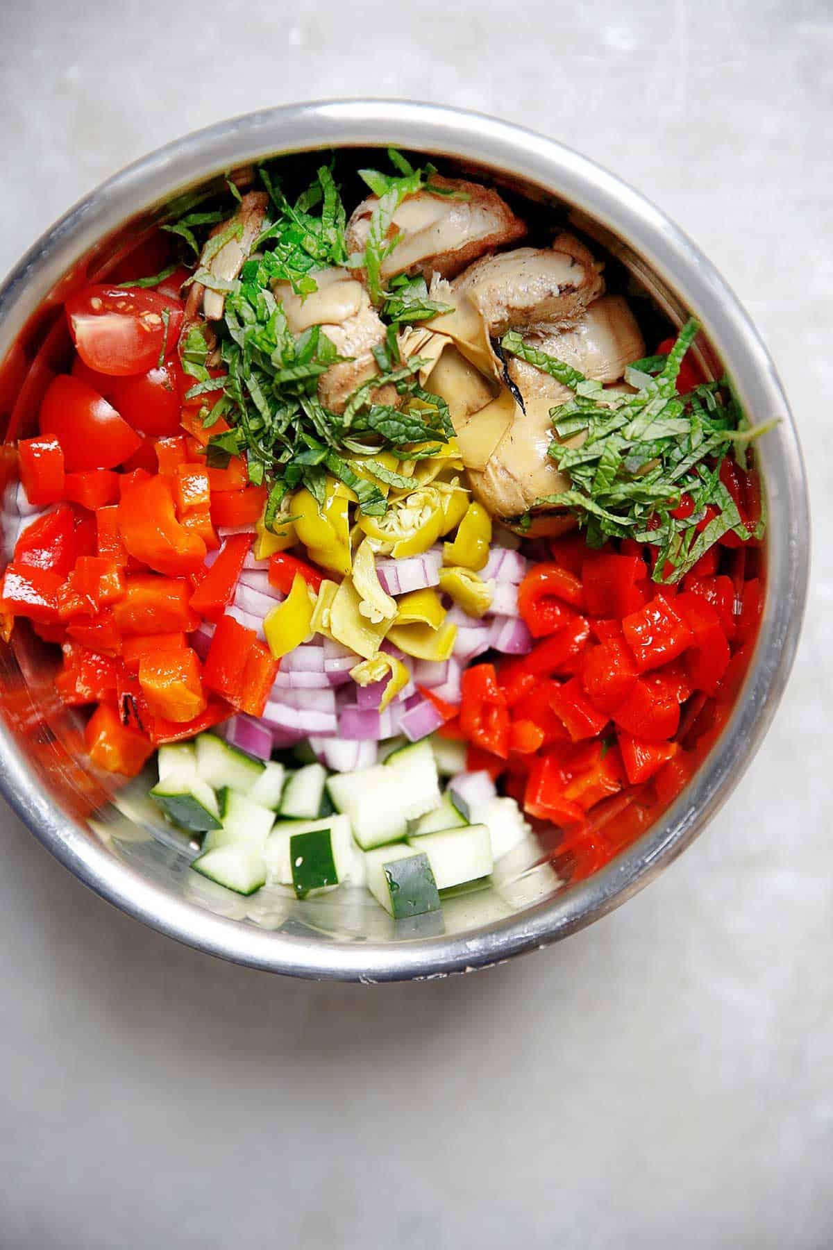 Meal Prep Mediteranean Bowls