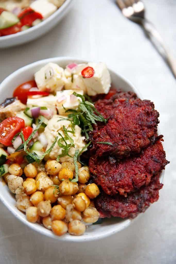Meal Prep Mediterranean Bowls