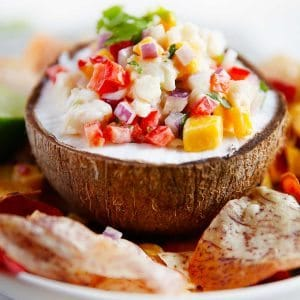 Coconut Curry Ceviche - Lexi's Clean Kitchen