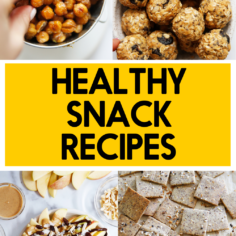55 Healthy Snacks Recipes