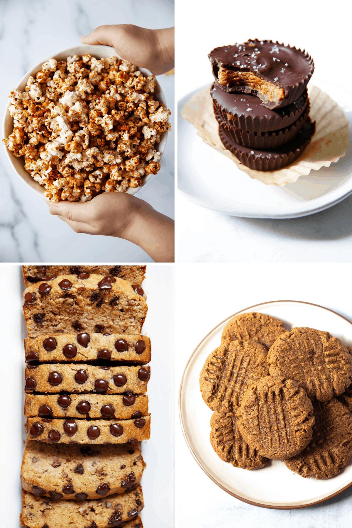 Healthy sweet treats.
