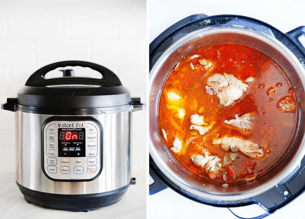 Instant-Pot Chicken Cacciatore | Lexi's Clean Kitchen