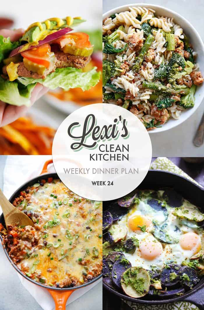 Lexi's Weekly Dinner Plan Week 24