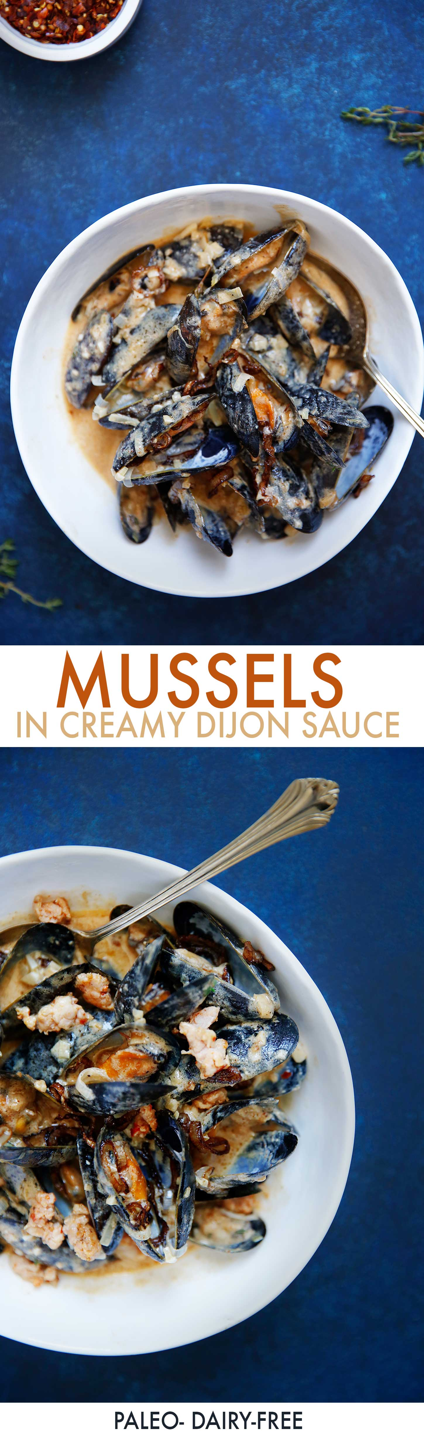 Mussels with Creamy Dijon Sauce - Lexi's Clean Kitchen