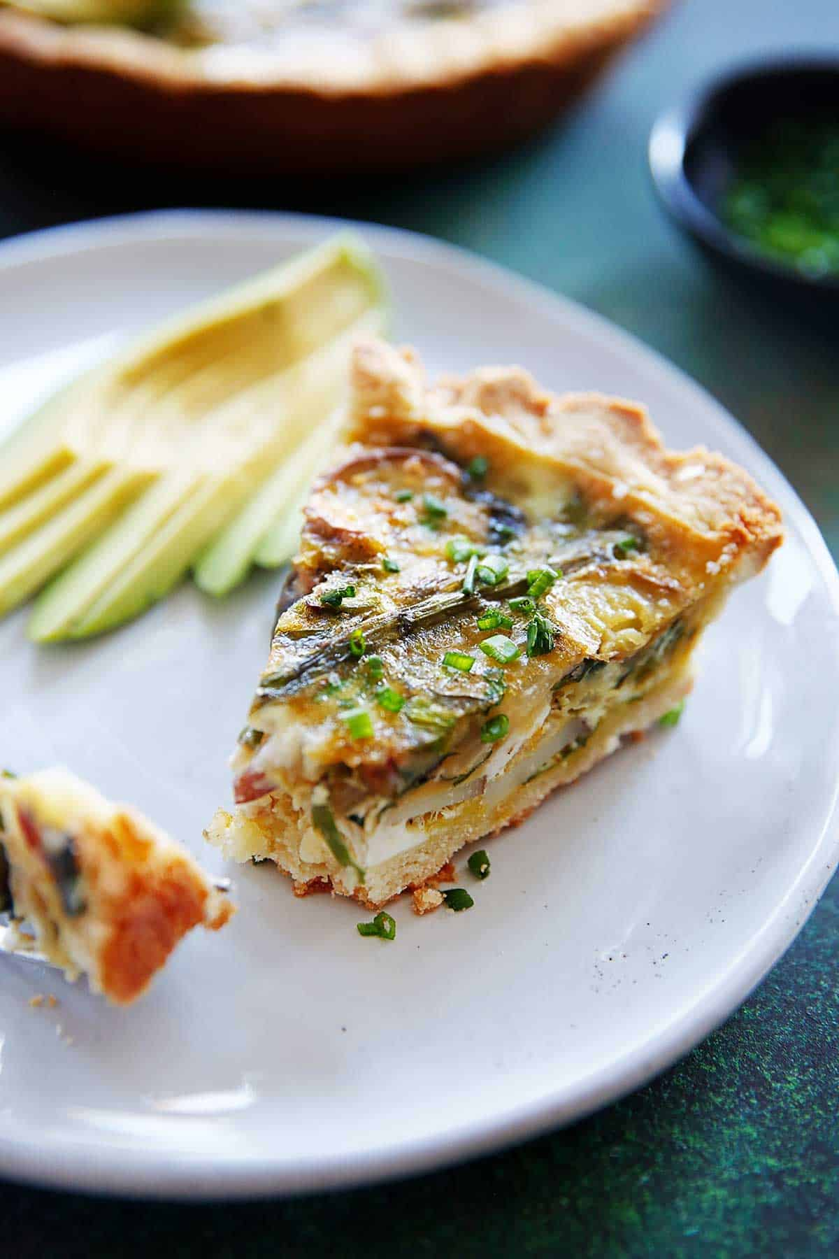 Paleo Spring Vegetable Quiche | Lexi's Clean Kitchen