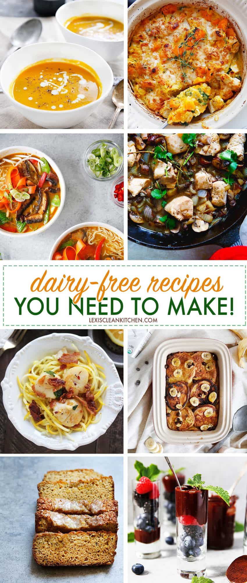 Dairy-free Recipes You Need To Make! | Lexi's Clean Kitchen