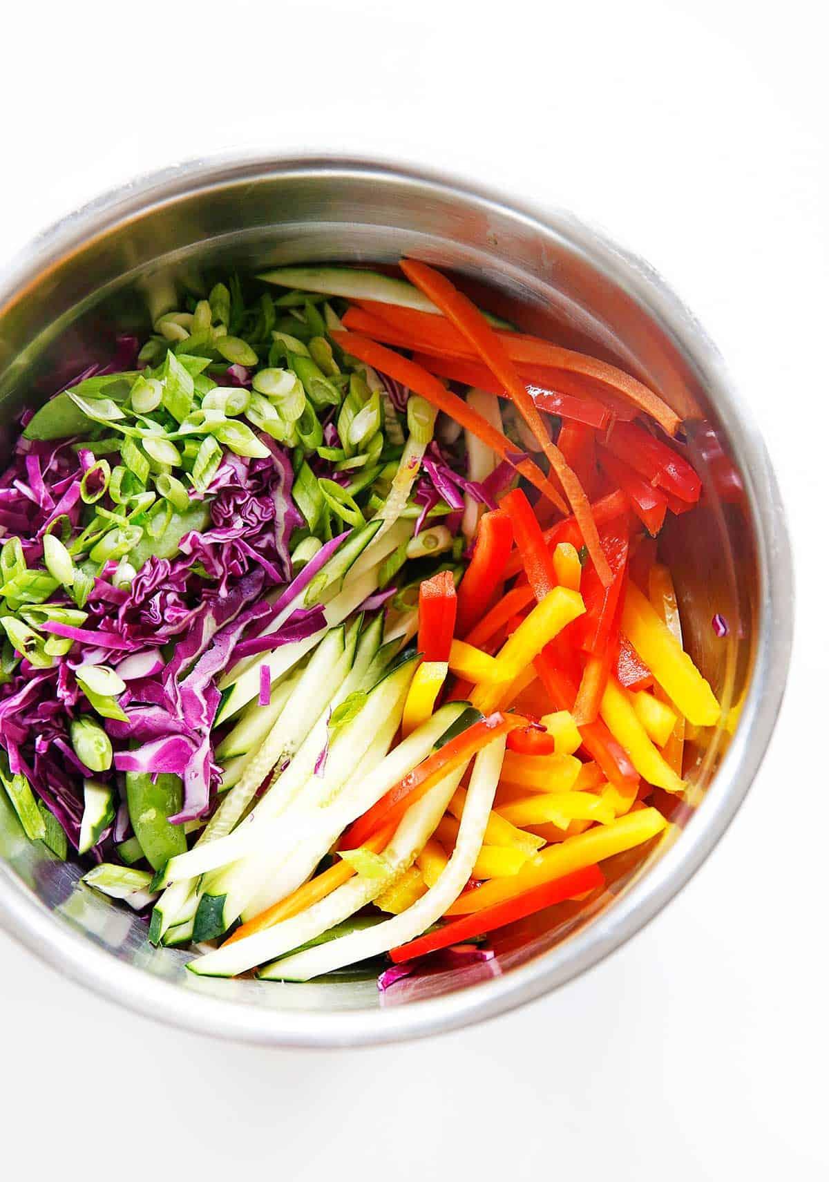 Cold Asian Noodle Salad {Gluten-free, Vegetarian}   Lexi's Clean Kitchen