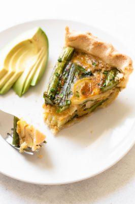 Gluten-Free Spring Veggie Quiche
