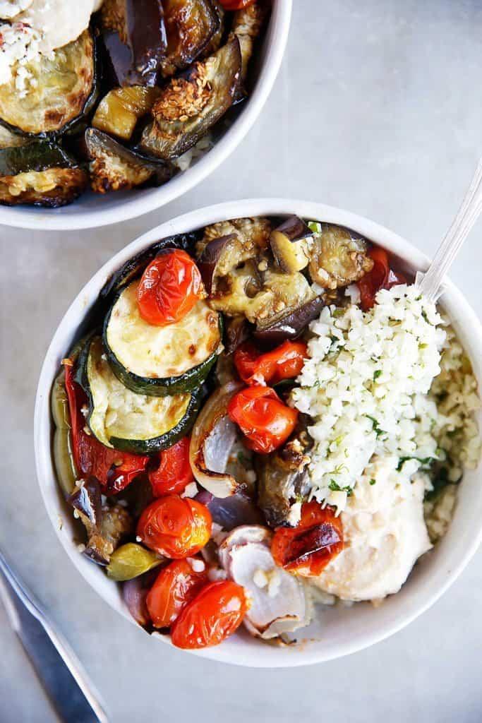 Greek Veggie Bowl
