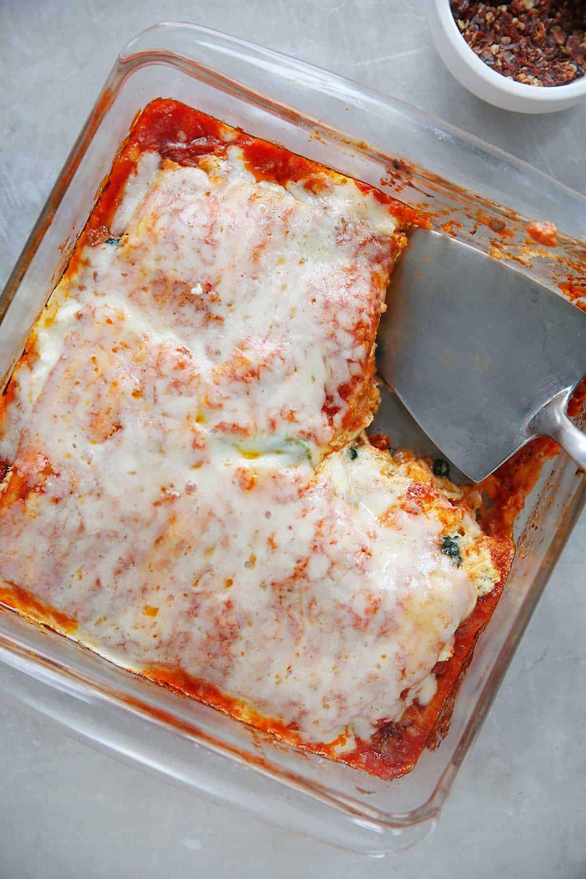 Gluten-Free Matzoh Lasagna - Lexi's Clean Kitchen