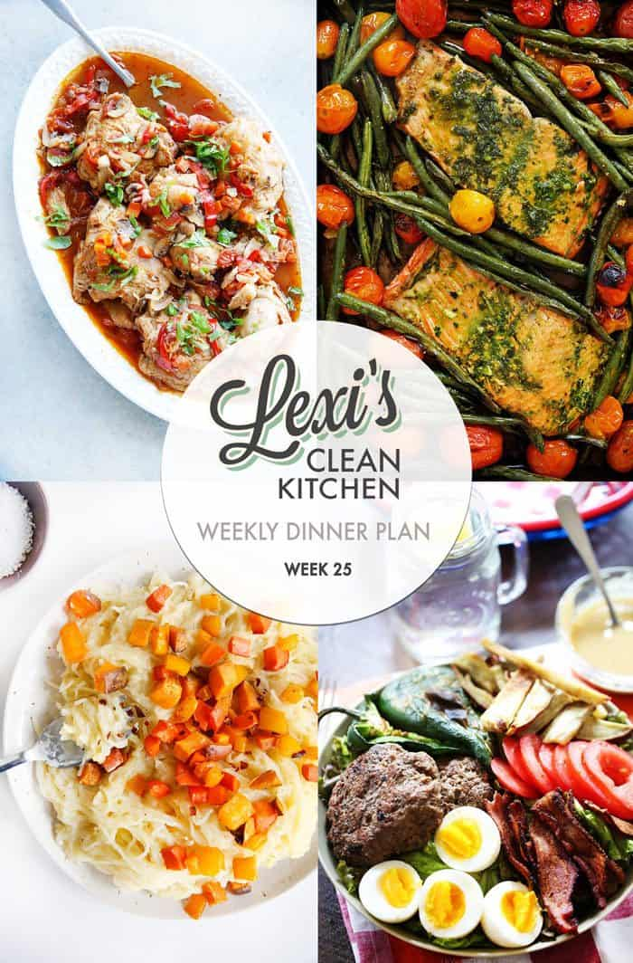Lexi's Weekly Dinner Plan Week 25
