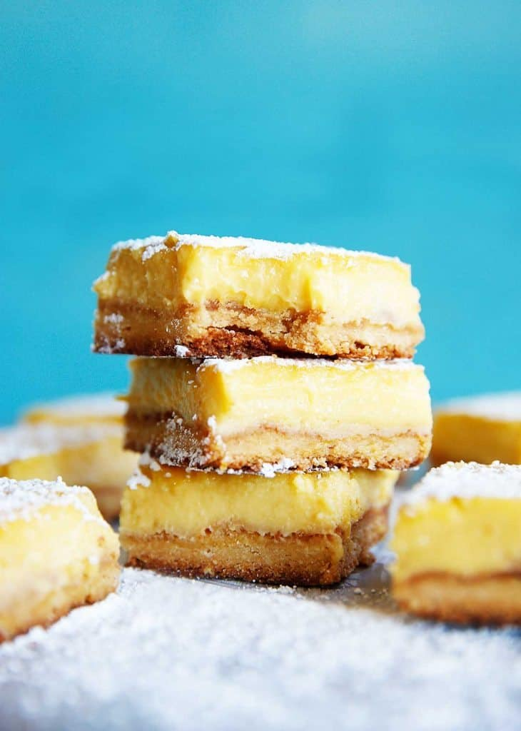 Paleo Lemon Bars | Lexi's Clean Kitchen