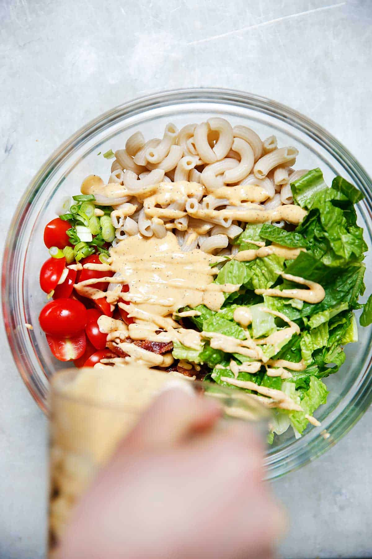 BLT Pasta Salad | Lexi's Clean Kitchen