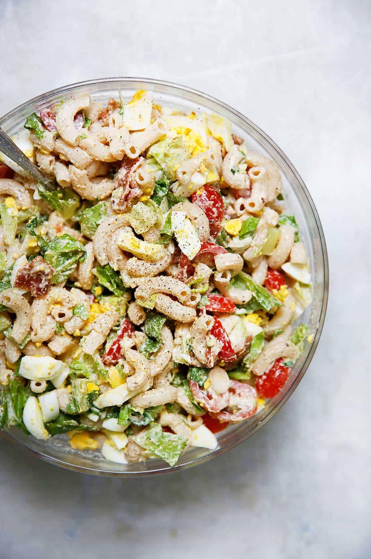 Gluten-Free BLT Pasta Salad