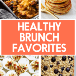 Healthy brunch favorites.
