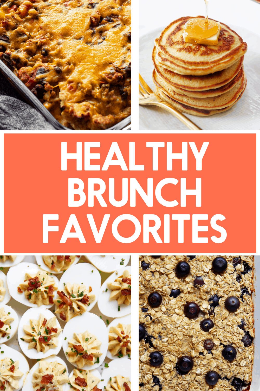 Healthy brunch favorites.