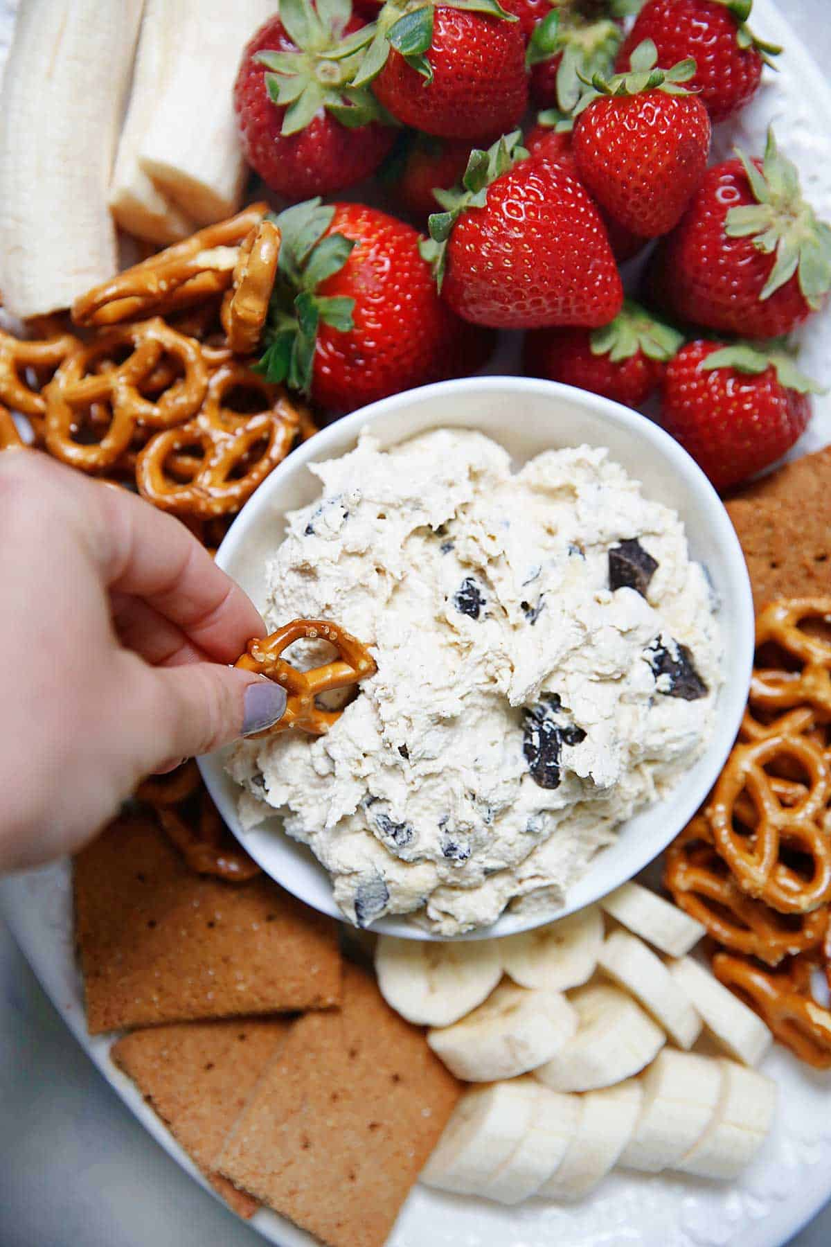 Gluten-free Edible Cookie Dough Dip | Lexi's Clean Kitchen