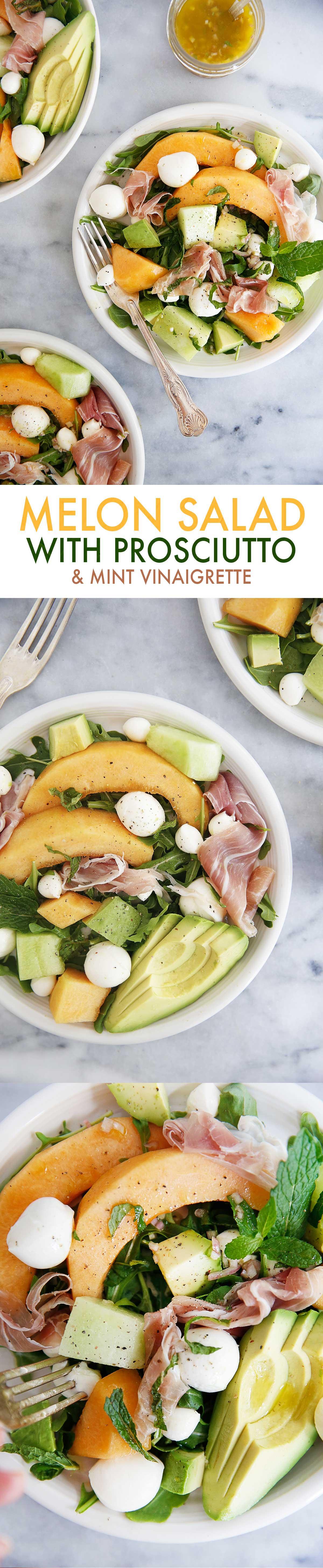 Melon and Prosciutto Salad   Lexi's Clean Kitchen