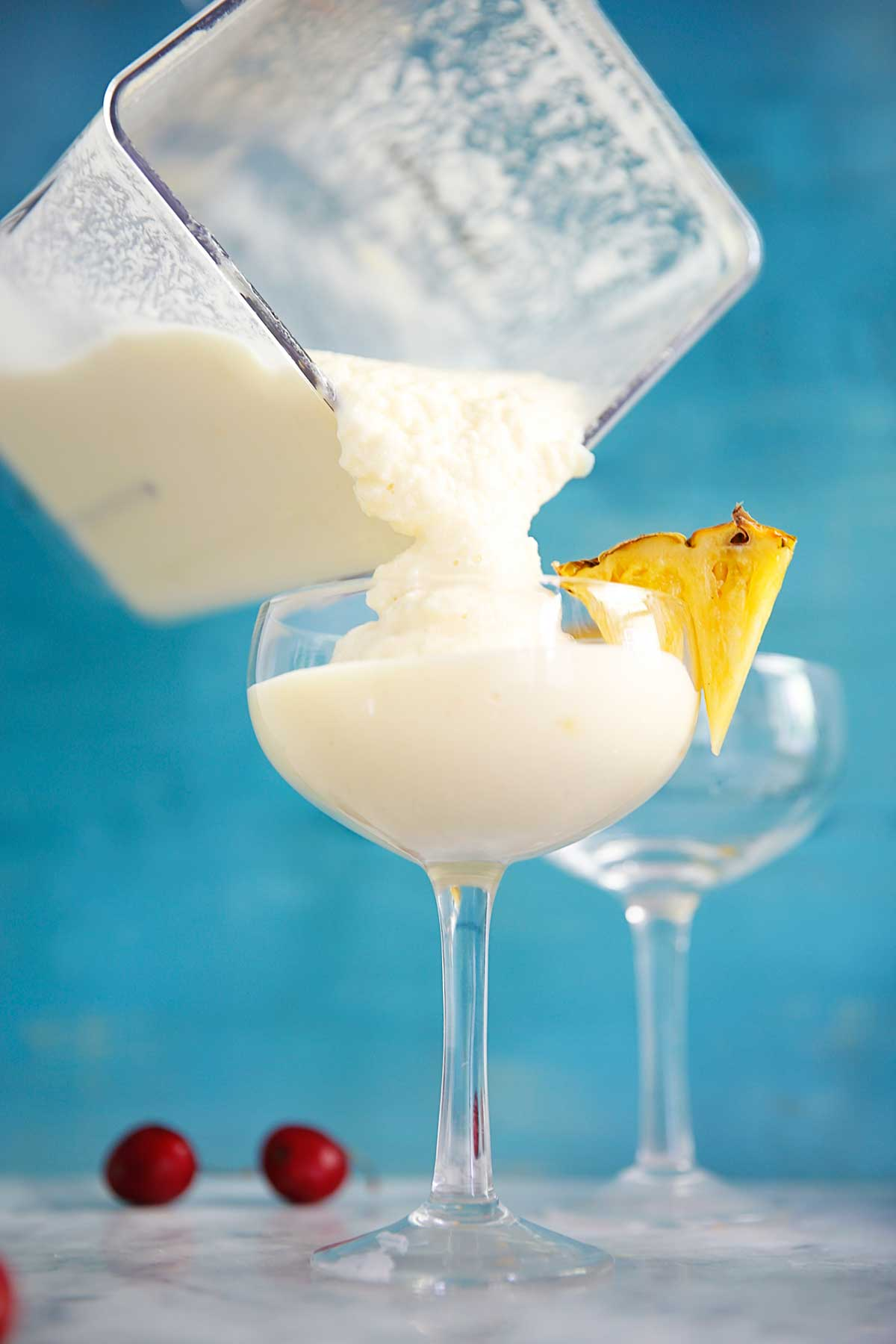 4 Ingredient Lightened Up Pina Colada | Lexi's Clean Kitchen