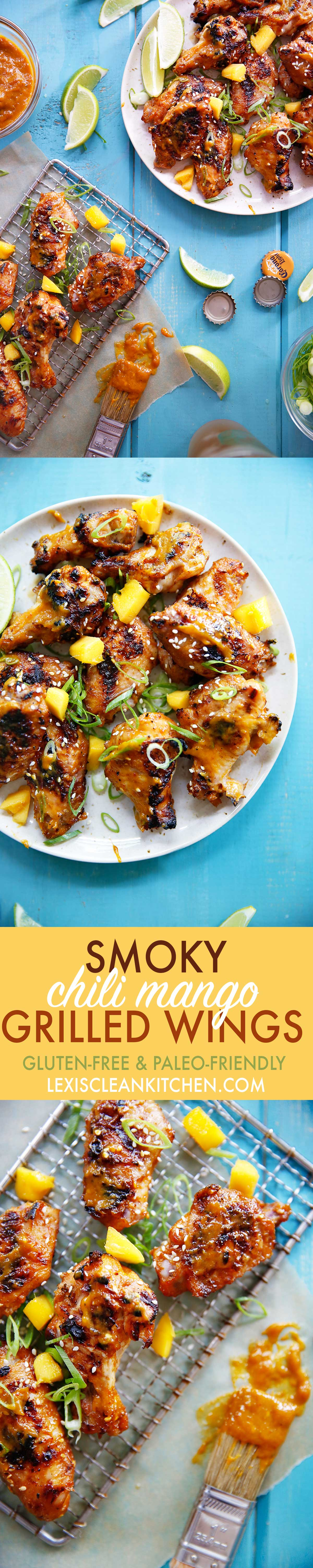 Chili Mango Wings | Lexi's Clean Kitchen