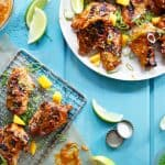 Chicken Wings with Mango Chili Sauce | Lexi's Clean Kitchen