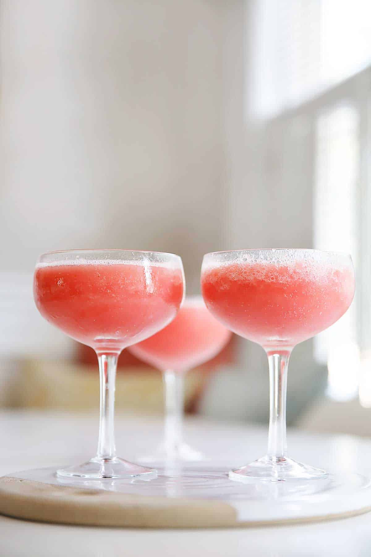 how to make frose slushies