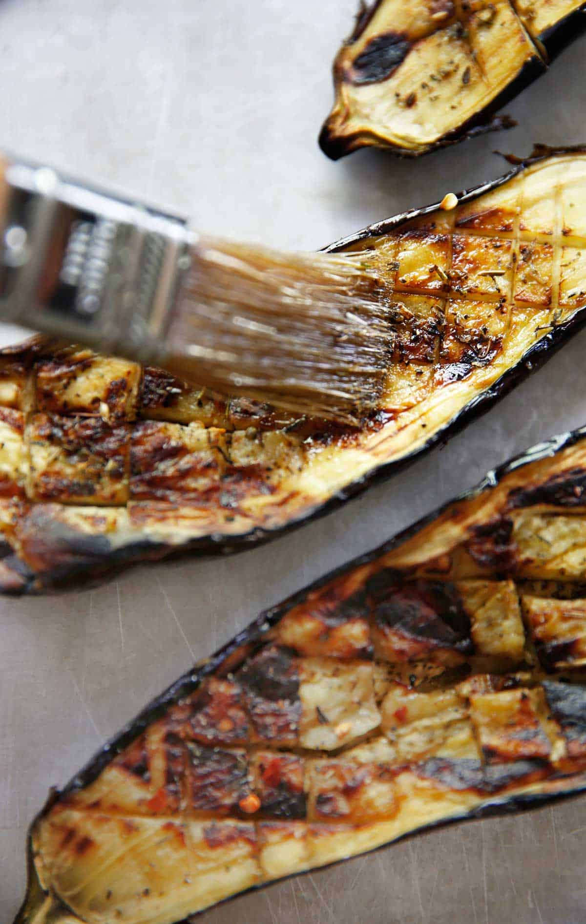 How to make Grilled Eggplant