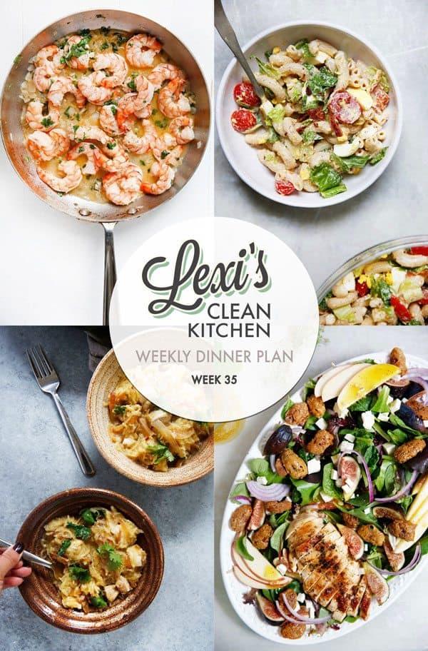 Lexi's Weekly Dinner Plan Week 35