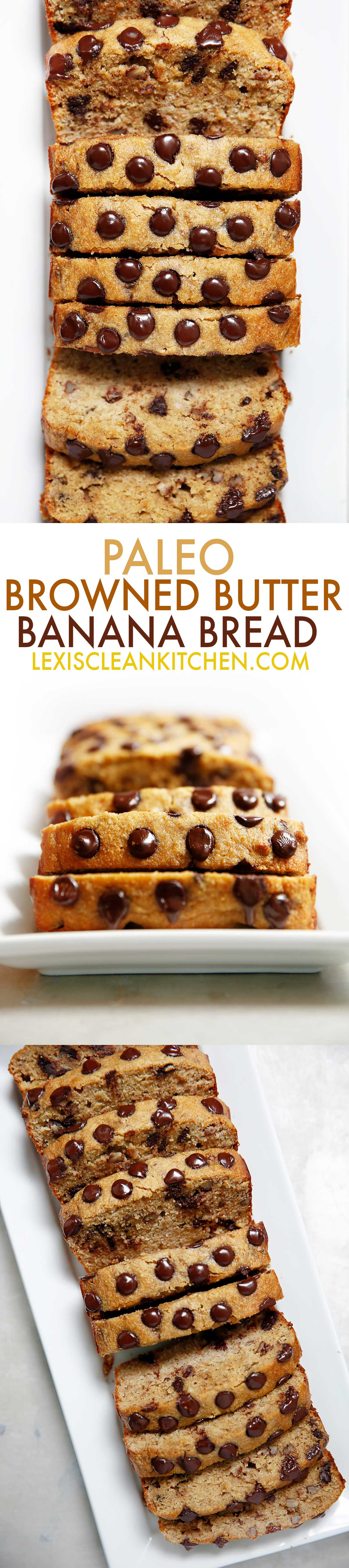 Paleo Brown Butter Banana Bread | Lexi's Clean Kitchen