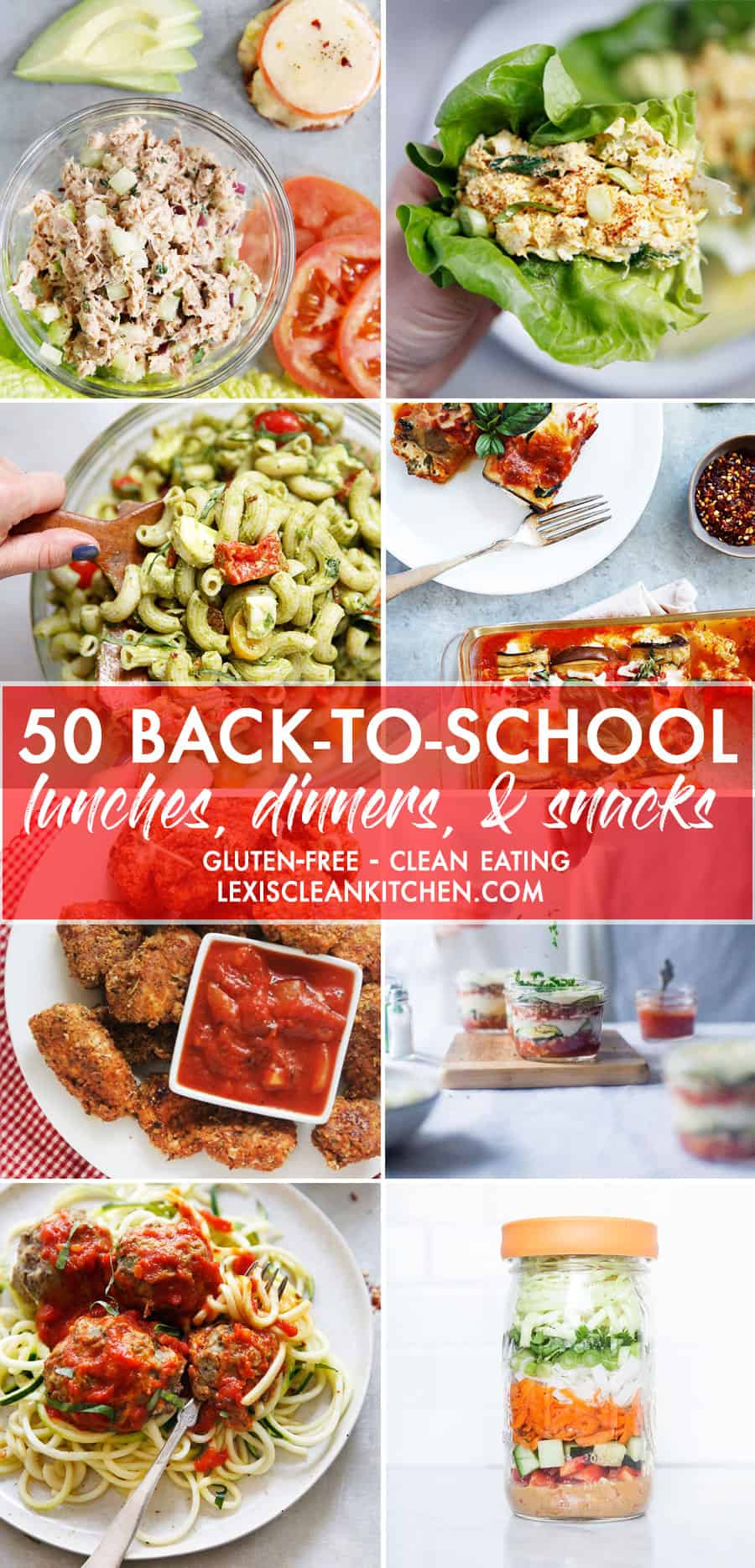 50 Back To School Easy Lunches, Dinners, and Snacks That Are Gluten-Free - Lexi's Clean Kitchen