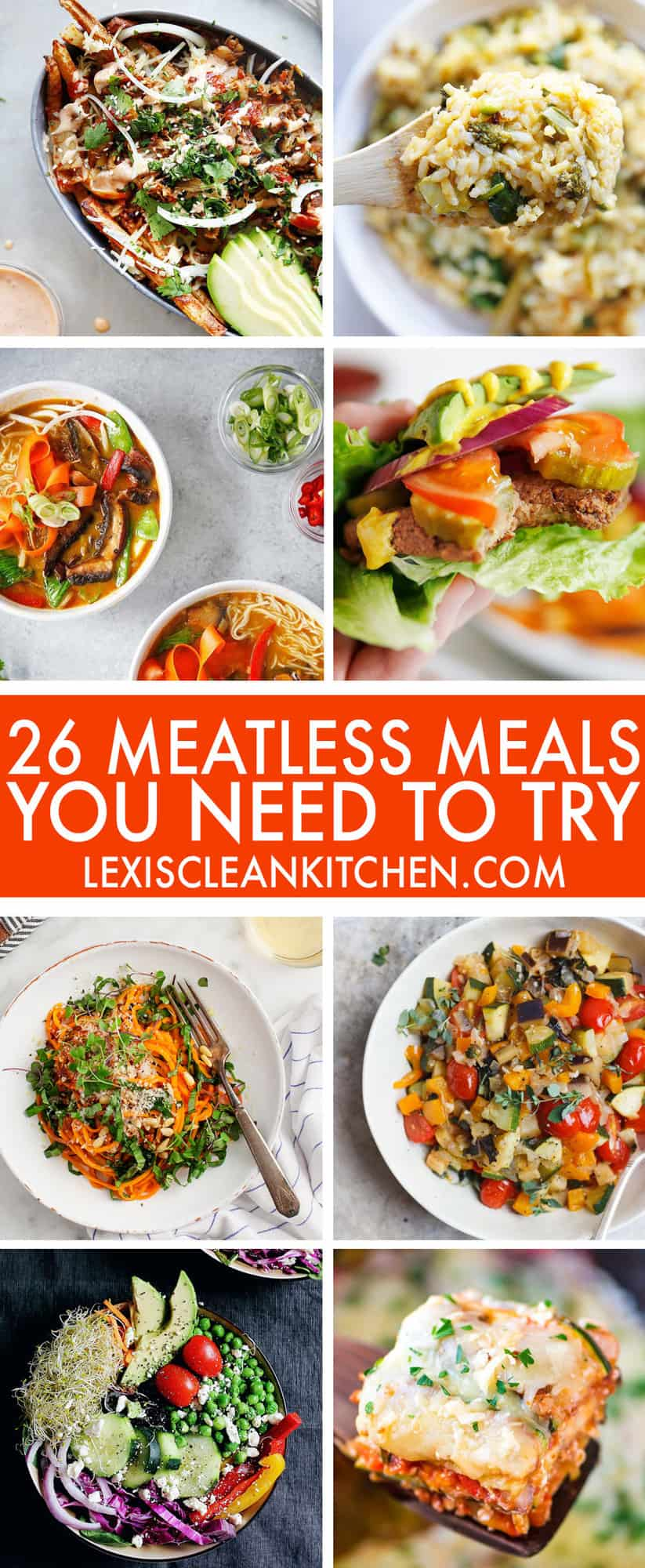 26 Gluten-Free Meatless Monday Meals You Need To Try - Lexi's Clean Kitchen