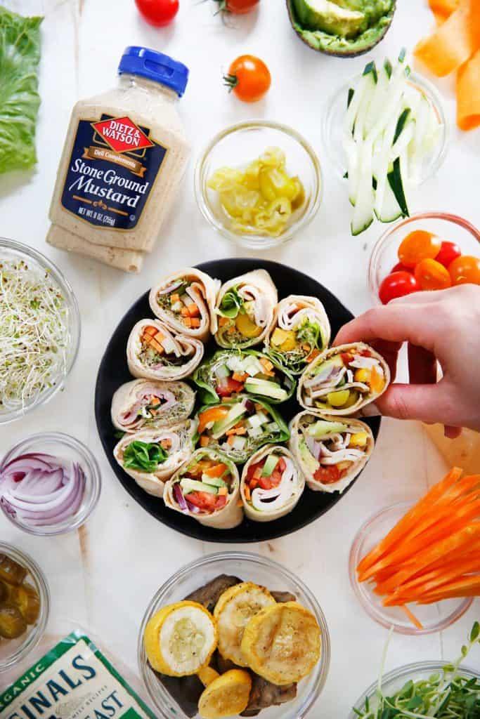 DIY Lunch Pinwheels | Lexi's Clean Kitchen