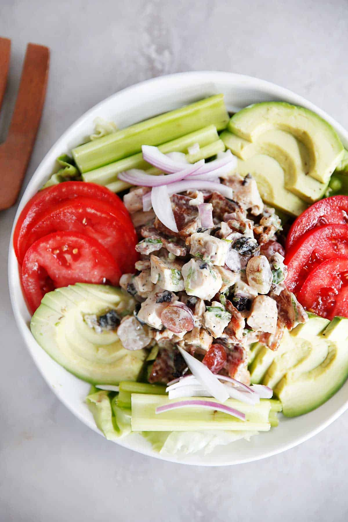 Loaded Chicken Salad | Lexi's Clean Kitchen