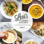 Meal Plan Graphic Week 45 | Lexi's Clean Kitchen