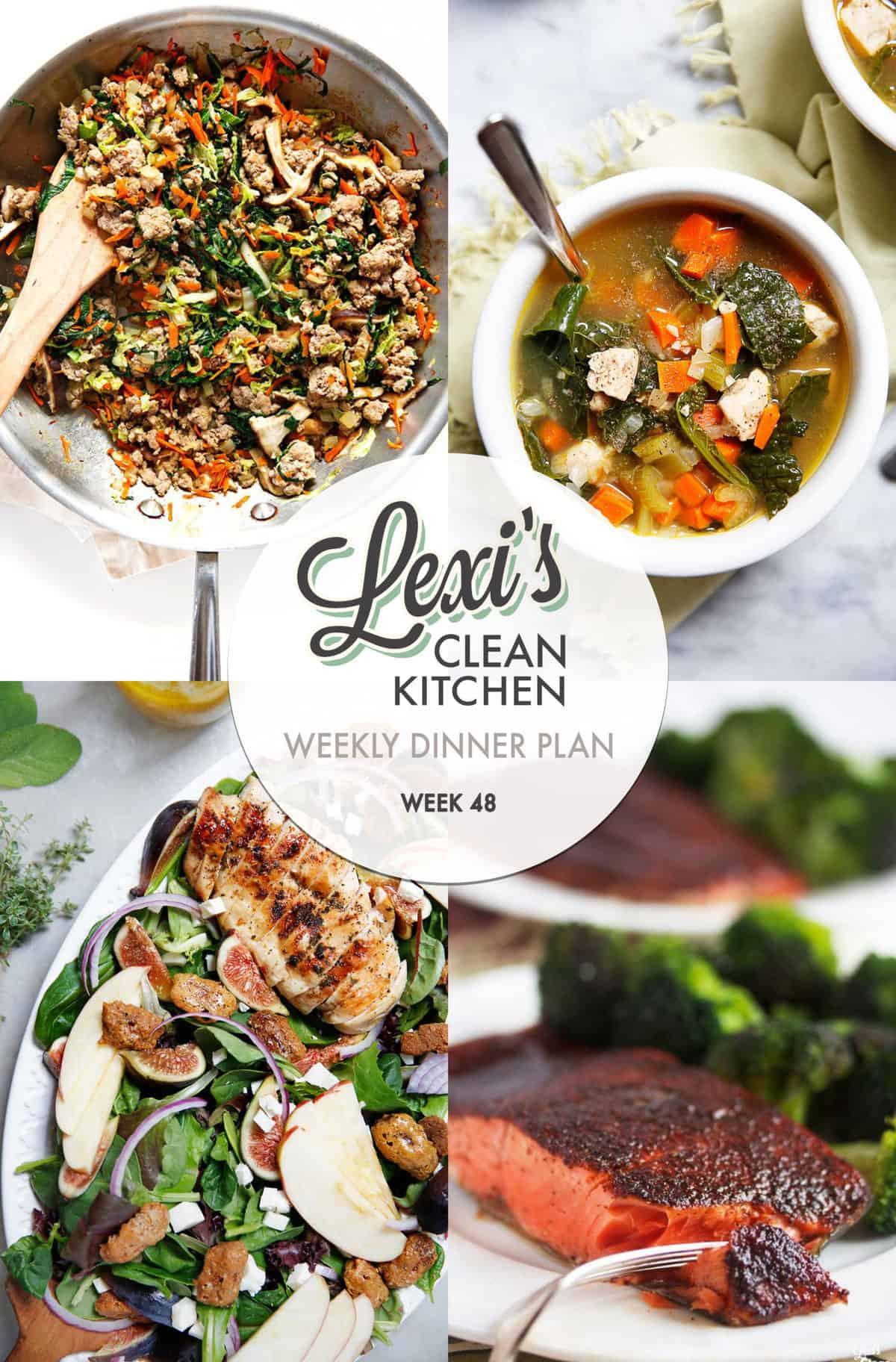 Lexi's Weekly Dinner Plan Week 48