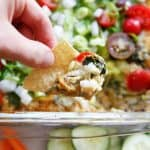 Southwestern Baked Hummus Dip | Lexi's Clean Kitchen
