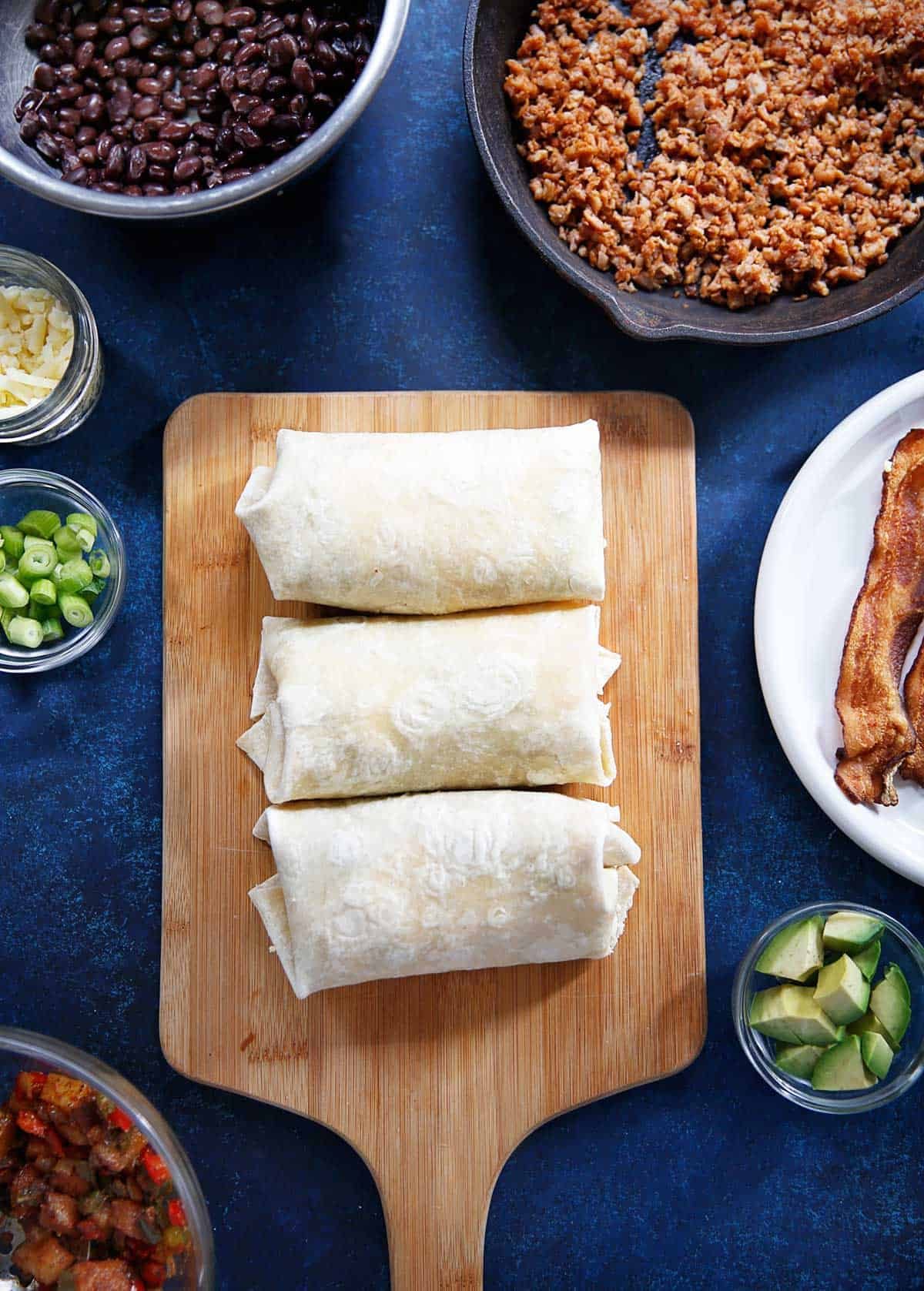 Breakfast Burritos Freezer Friendly | Lexi's Clean Kitchen