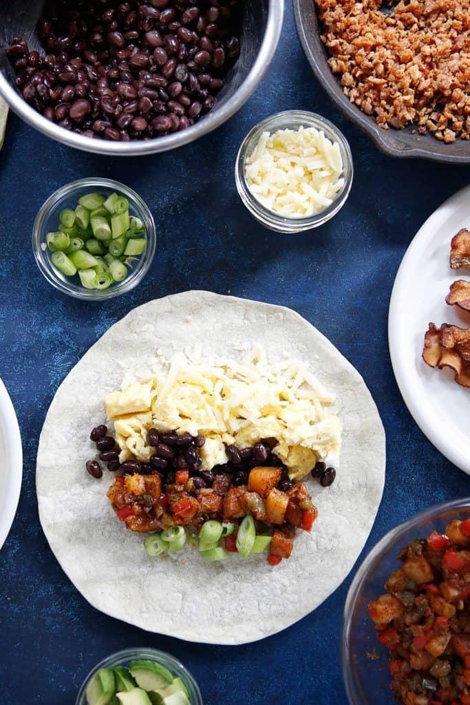 Breakfast Burritos Freezer Friendly | Lexi's Clean Kitchen