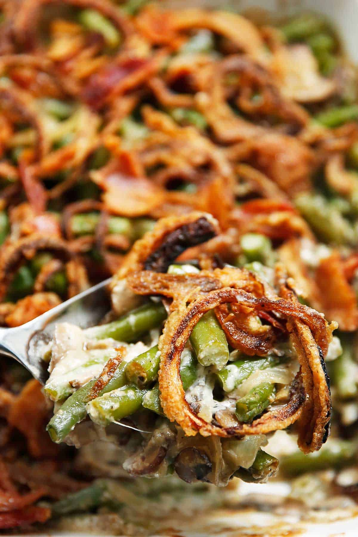 Dairy Free Green Bean Casserole - Lexi's Clean Kitchen
