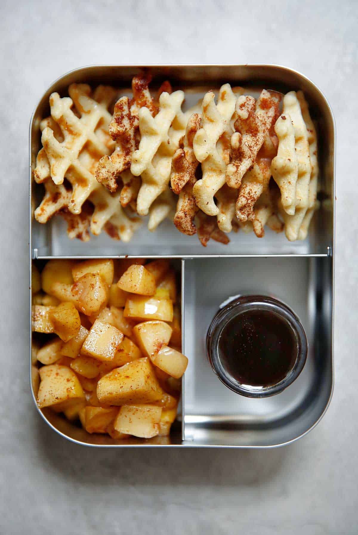 Mini waffles for meal prep