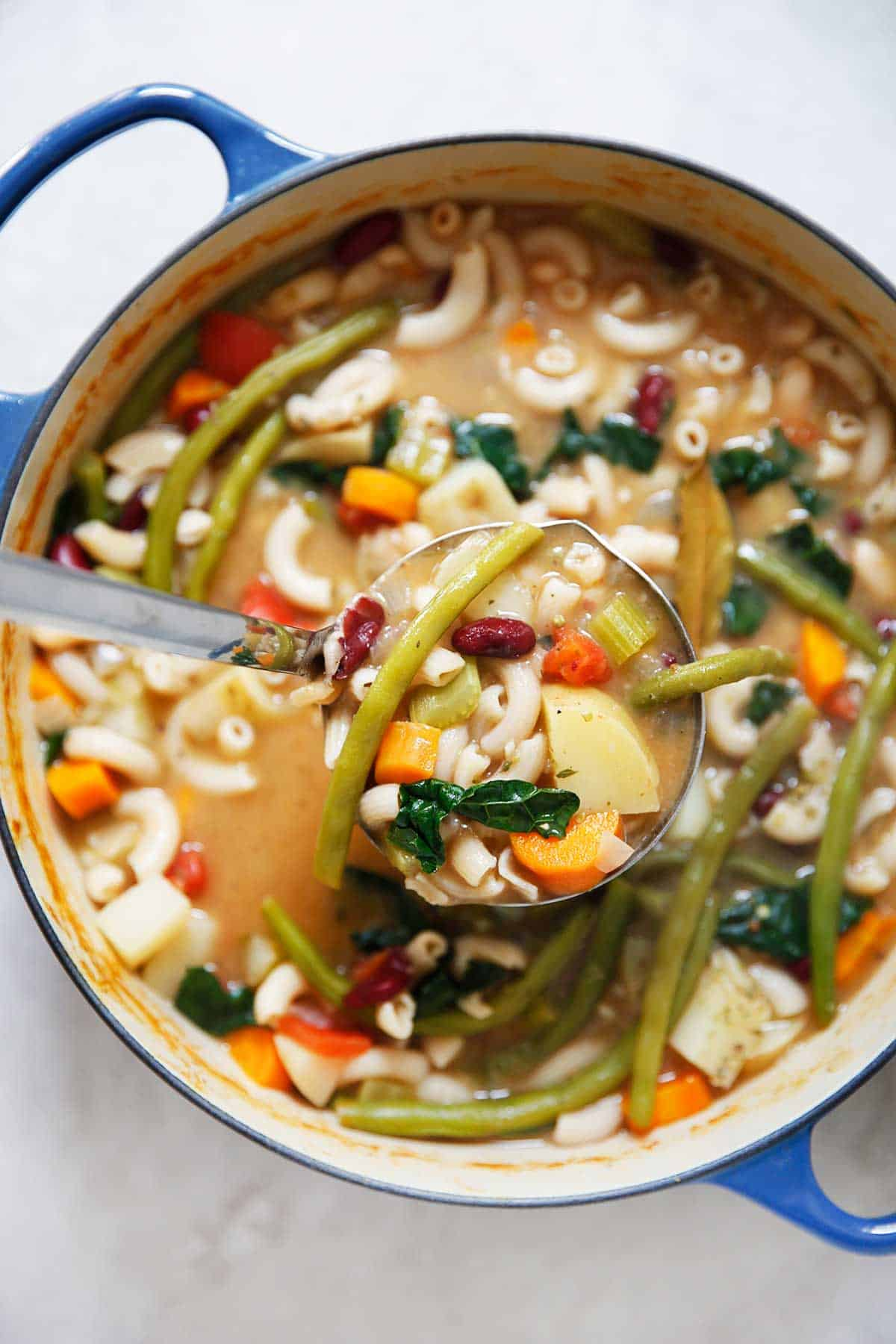 Gluten-Free Minestrone Soup (In 30 Minutes!)