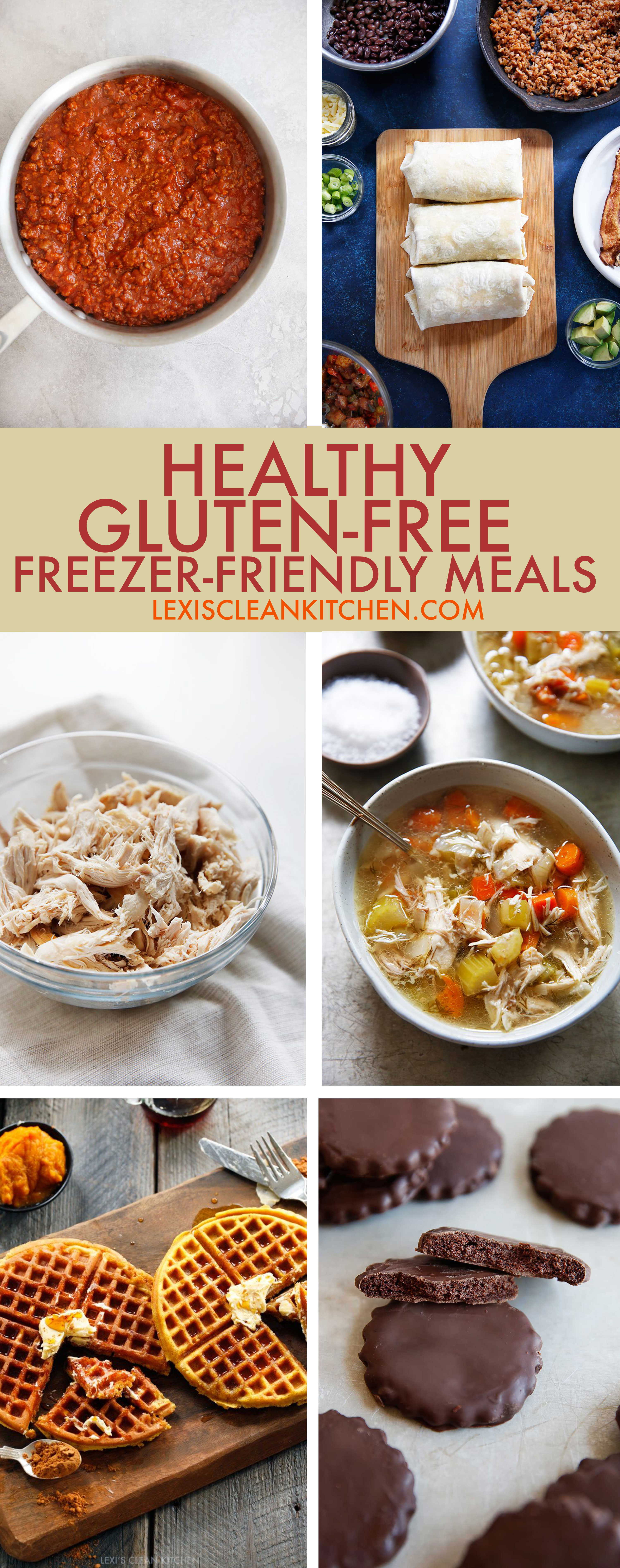 Healthy Gluten-Free Freezer-Friendly Meals - Lexi's Clean Kitchen