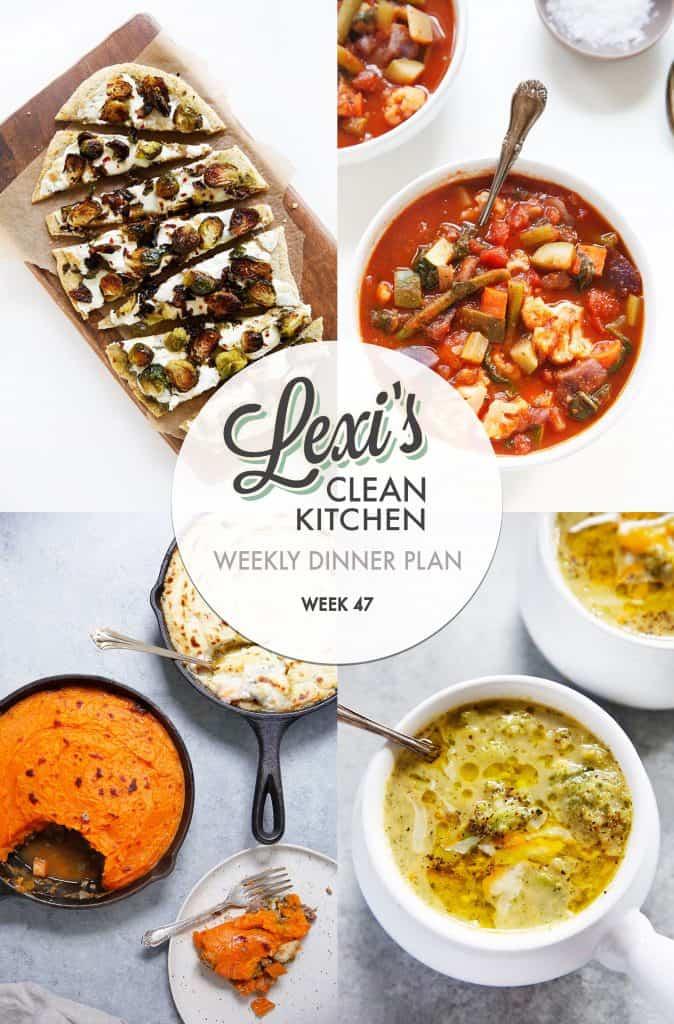 Lexi's Weekly Dinner Plan Week 47