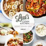 Weekly Dinner Plan Week 49 | Lexi's Clean Kitchen