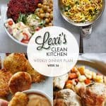 Meal Plan Graphic Week 54 [paleo-friendly] | Lexi's Clean Kitchen