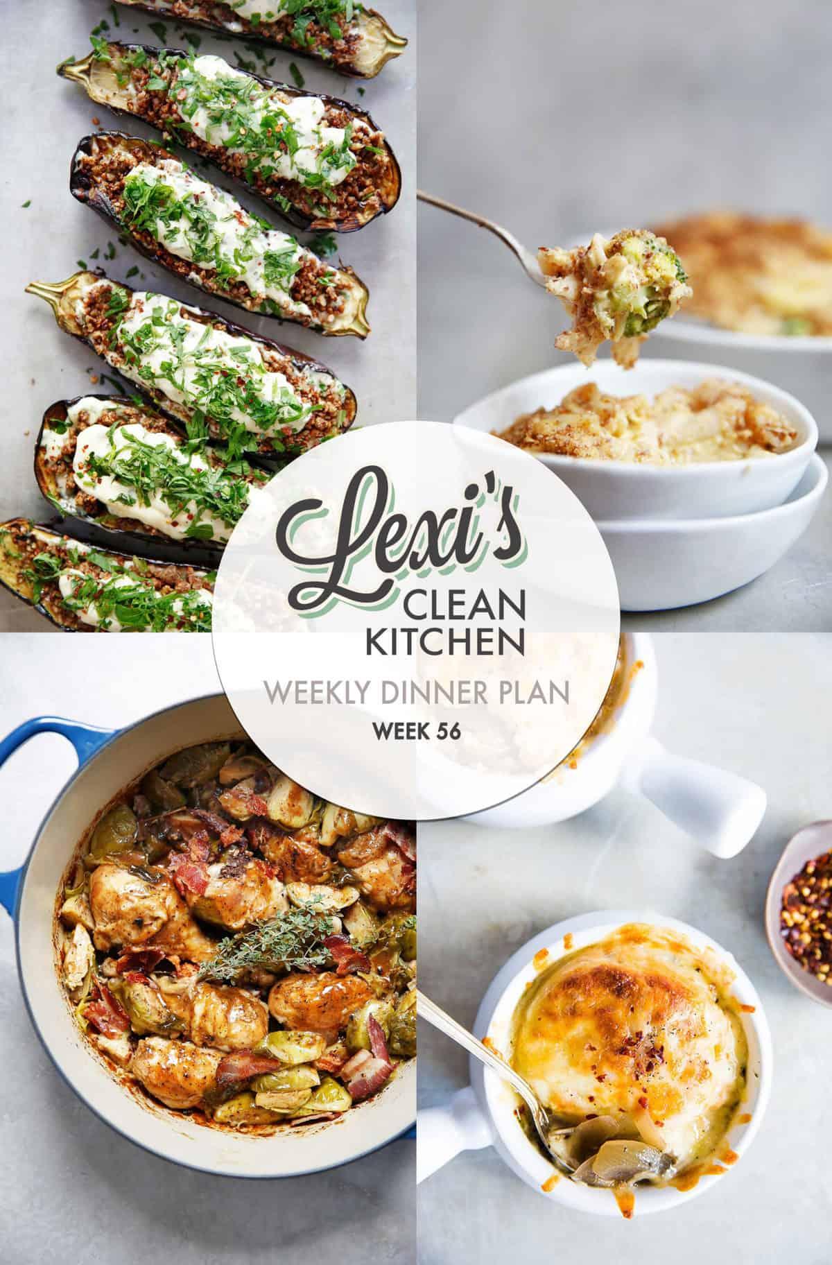 Lexi's Weekly Dinner Plan Week 56