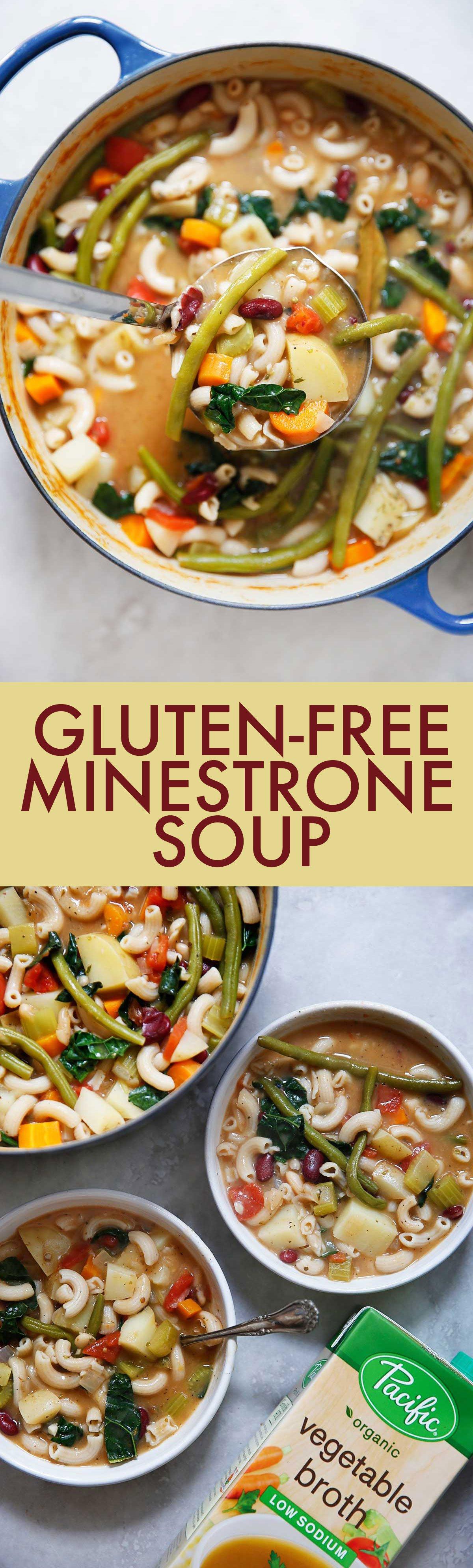 Gluten-Free Minestrone Soup - Lexi's Clean Kitchen
