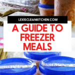 A Freezer Meal Guide image for Pinterest